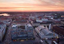 Helsinki shopping centre