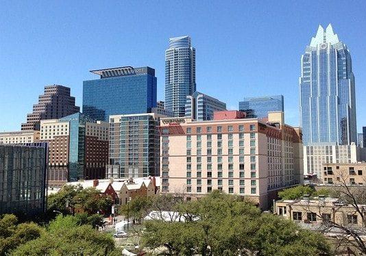 office development in South Austin