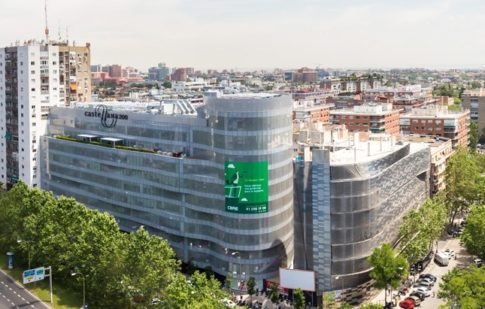 mixed-use office and retail asset in Madrid