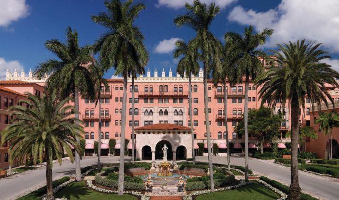 Flor,da luxury hotel Boca Raton