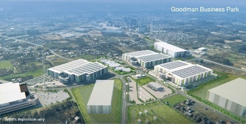 BMW signs lease for 70,000 sqm at Goodman Business Park in Tokyo