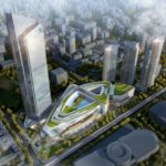 Grade A Office Tower unveiled at Heartland 66 in Wuhan, China