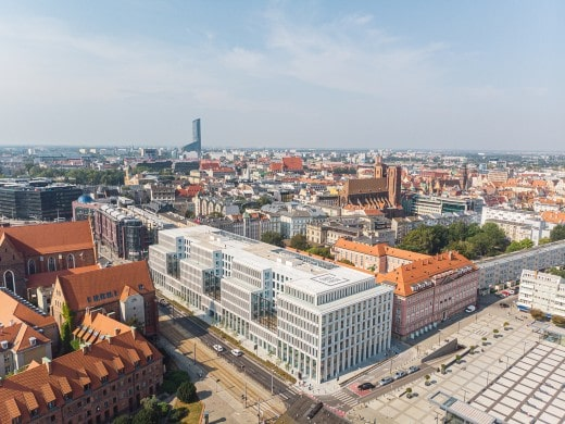 Skanska sells three office buildings in Poland for €214M
