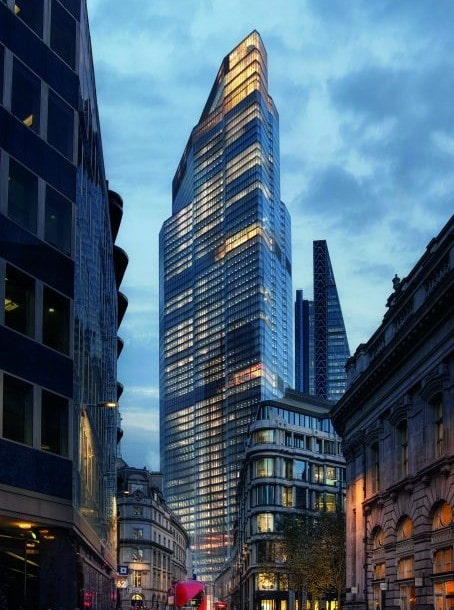 AXA IM-Real Assets pre-lets 50,000 sq ft at 22 Bishopsgate to global insurance group