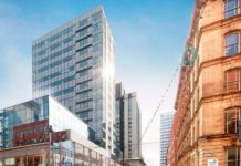 Workspace provider Regus signs lease at St James's Tower in Manchester