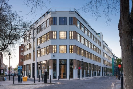 CBRE GI acquires office building in Central London