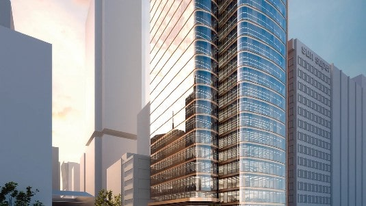 CBRE GI buys office property in North Sydney for A$350m