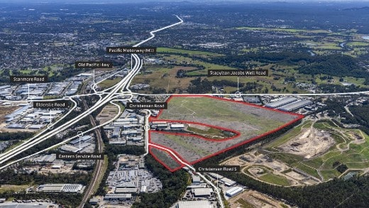 Industrial estate in Yatala sold to Frasers Property