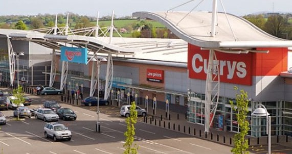 Intu sells retail park in Lisburn, Northern Ireland