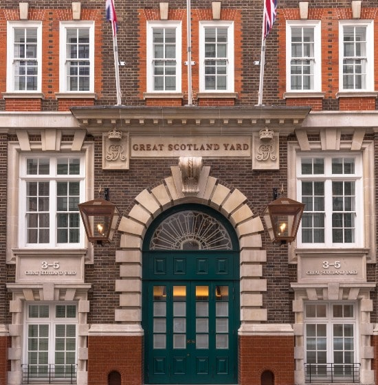 Hyatt opens Great Scotland Yard hotel