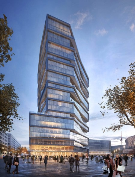 PGIM Real Estate buys office tower in Berlin from SIGNA