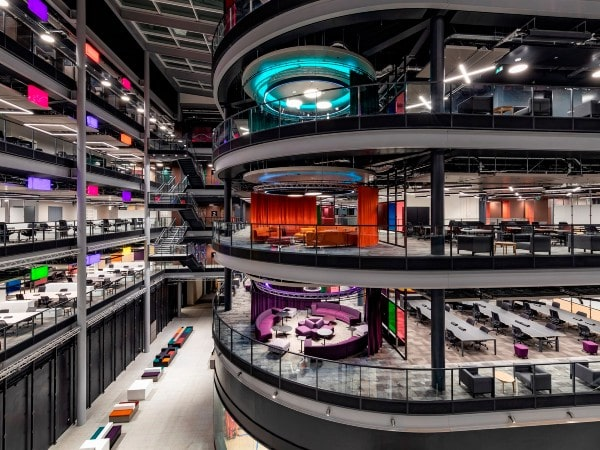 Staff begin move into BBC Wales' new broadcast center in Cardiff