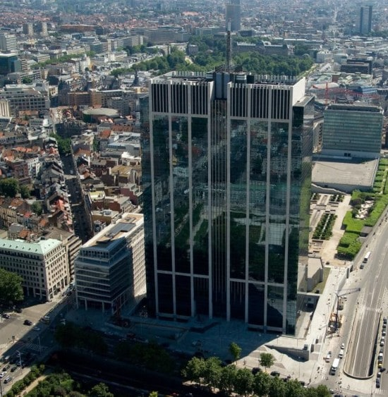 Brussels Finance Tower sold for €1.2 billion,Europe's largest real estate deal of 2020