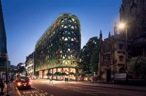 City Corporation approves plans for the greenest building in London