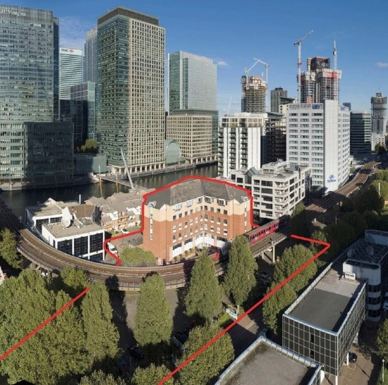 Hong Kong's FEC acquires Ensign House in Canary Wharf, London