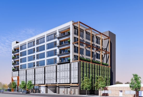 Lowe, Related JV starts construction of office building in Los Angeles' Arts District
