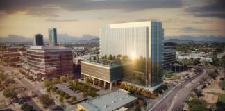 Amazon leases 95,000 square feet at Cousins' 100 Mill development in downtown Tempe