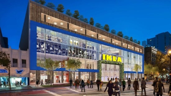 IKEA's shopping malls arm buys retail property in San Francisco