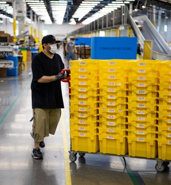 Amazon to open two new fulfillment centers in Kansas