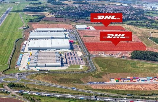 DHL signs lease at SEGRO Logistics Park East Midlands Gateway