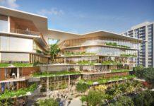 Starwood Property Trust tops off its new headquarters in Miami Beach