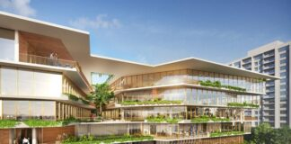 Starwood Property Trust tops off its new headquarters in Miami Beach