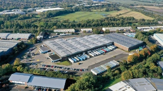 Arrow acquires three logistics assets in UK for £31.5m