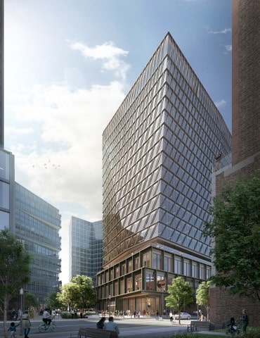 Amazon leases new 17-story office tower for Boston Tech Hub expansion