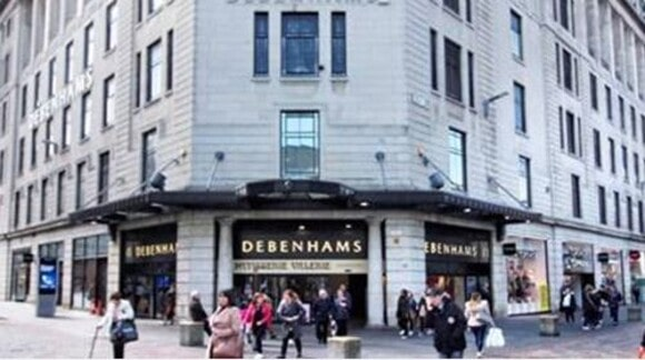 Boohoo buys Debenhams brand for £55m