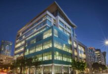 Barings recapitalizes office property in Downtown San Diego