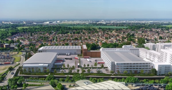 SEGRO starts construction of new urban industrial scheme in Hayes