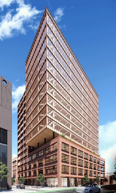 Hines to build Melbourne's tallest timber office building
