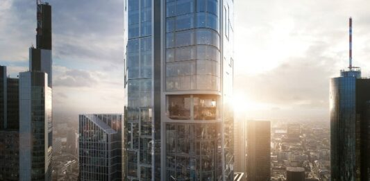 Allianz signs forward deal for €1.4bn office tower project in Frankfurt