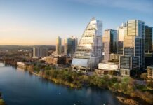 35-story office tower tops out in Austin