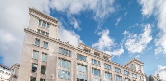 Barings buys City of London office building for £130m