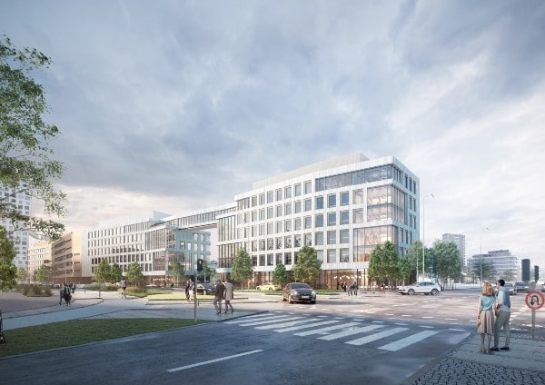 NCC signs contract with PensionDanmark for new office building