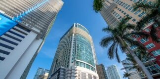 KKR, Parkway sign lease at 1111 Brickell in Miami